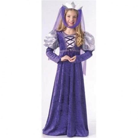 Disfraz de Reina Medieval Infantil