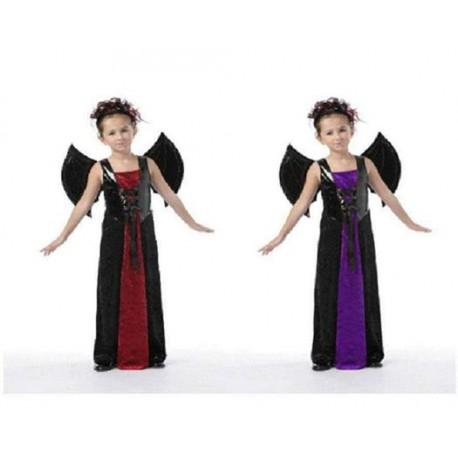 Disfraz de Vampiresa con alas