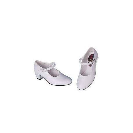 Zapatos Sevillana Blanco Infantil N28
