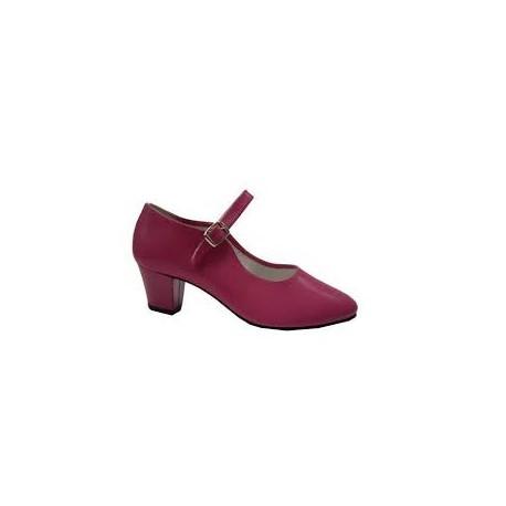 Zapatos sevillana Fuxia Infantil N27