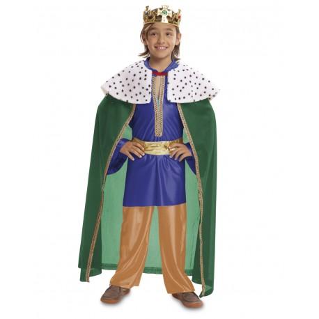 Disfraz Rey Mago azul