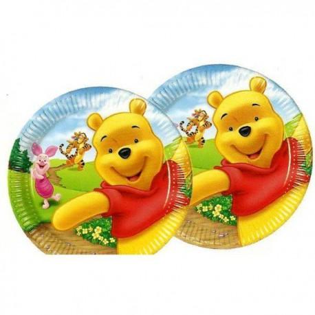 Platos Winnie Family 6uds