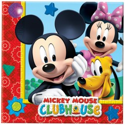 Servilletas Mickey 20uds