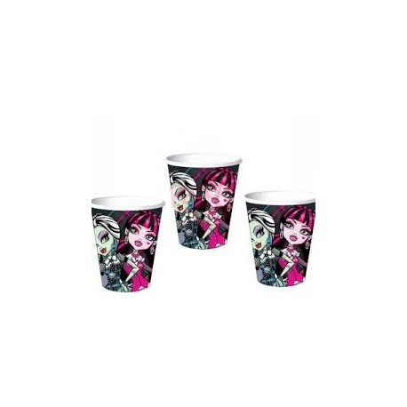 Vasos Monster High 5uds