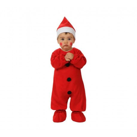 Disfraz de Papa Noel Bebe