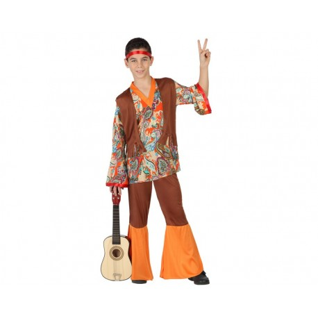 Disfraz de Hippie Niño