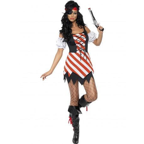 Fever pirate costume dres M