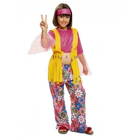 Disfraz niña hippie