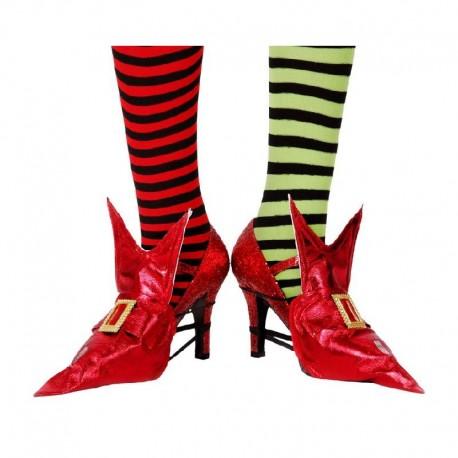 Cubrezapatos Rojo Bruja