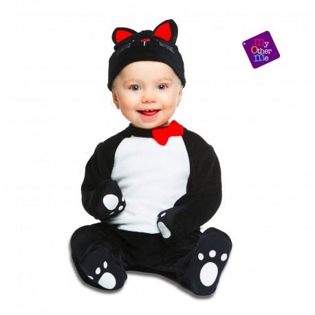 Disfraz Gatito Negro Bebe