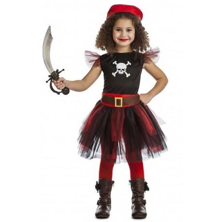 Disfraz Infantil Pirata tutu