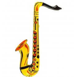 Saxofon Hinchable Amarillo